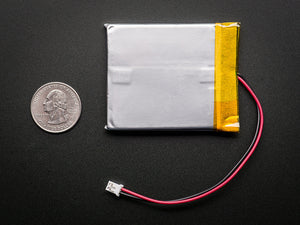 Lithium Ion Polymer Battery - 3.7v 2500mAh - Chicago Electronic Distributors  - 1