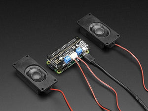 Adafruit I2S 3W Stereo Speaker Bonnet for Raspberry Pi - Chicago Electronic Distributors