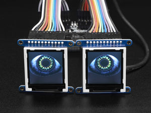 Adafruit Animated Eyes Bonnet for Raspberry Pi Mini Kit - Chicago Electronic Distributors