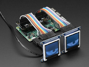 Adafruit Animated Eyes Bonnet for Raspberry Pi Mini Kit