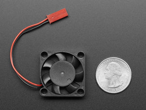 Miniature 5V Cooling Fan for Raspberry Pi (and Other Computers)