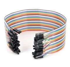 Female / Female Jumper Wires, 4, 8, or 12 inch lengths