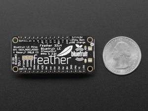 Adafruit Feather 32u4 Bluefruit LE with Headers - Assembled