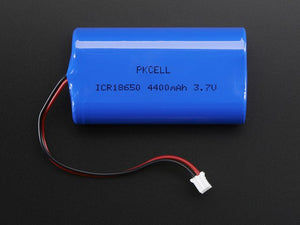 Lithium Ion Battery Pack - 3.7V 4400mAh - Chicago Electronic Distributors