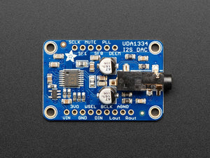 Adafruit I2S Stereo Decoder - UDA1334A Breakout