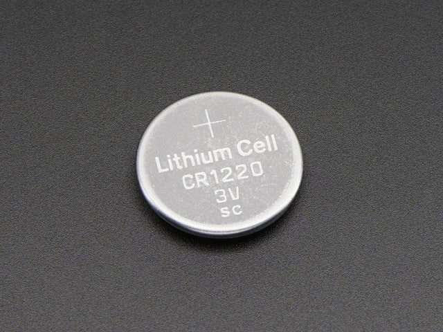 CR1220 12mm Diameter - 3V Lithium Coin Cell Battery - Chicago Electronic Distributors