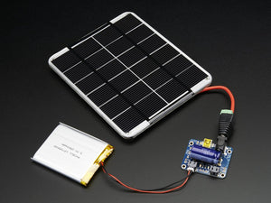 USB / DC / Solar Lithium Ion/Polymer charger - v2 - Chicago Electronic Distributors  - 2