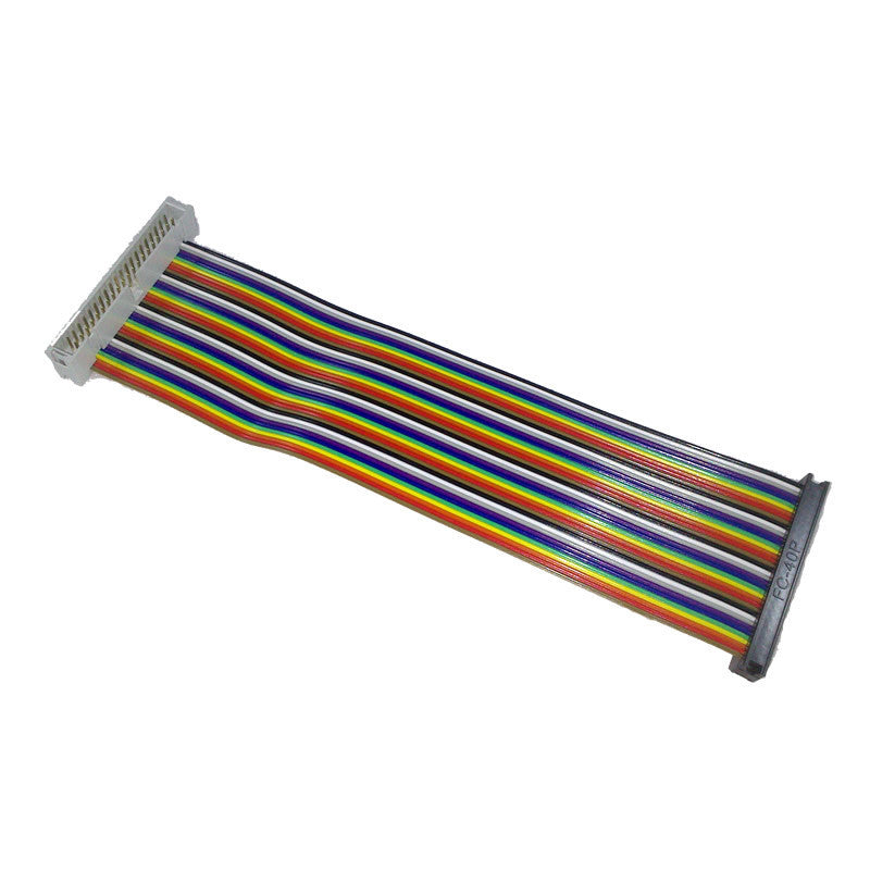40 Way GPIO Rainbow Extender Cable - Male to Female - Chicago Electronic Distributors  - 2
