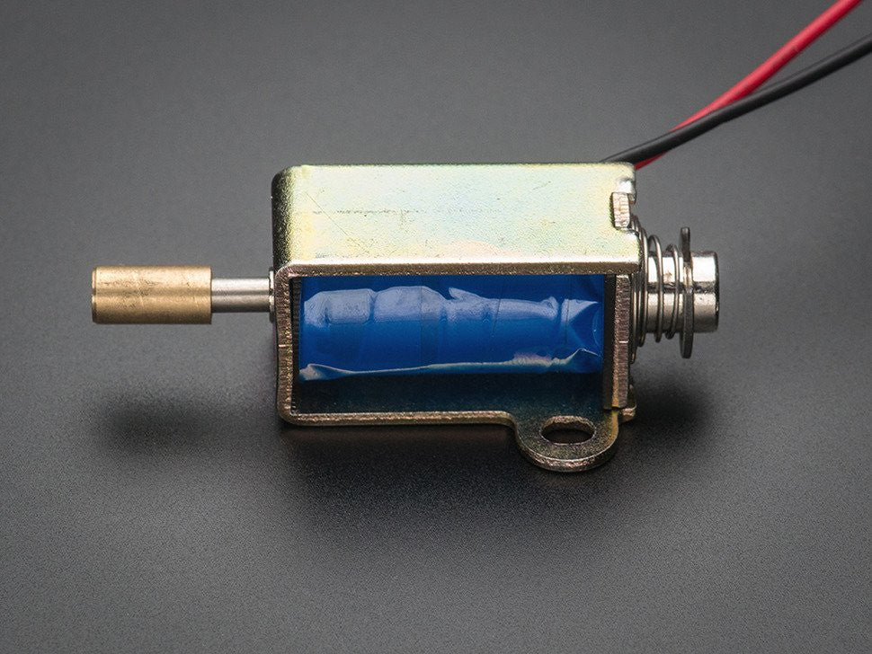 Small push-pull solenoid - Chicago Electronic Distributors  - 3