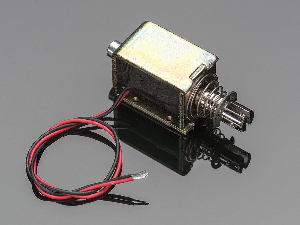 Large push-pull solenoid - Chicago Electronic Distributors  - 4