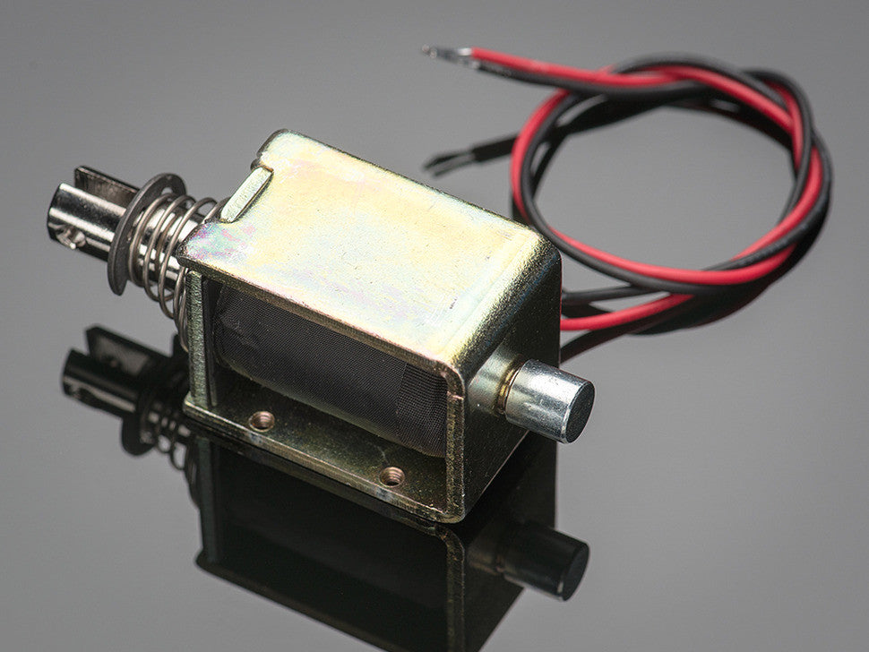 Large push-pull solenoid - Chicago Electronic Distributors  - 3