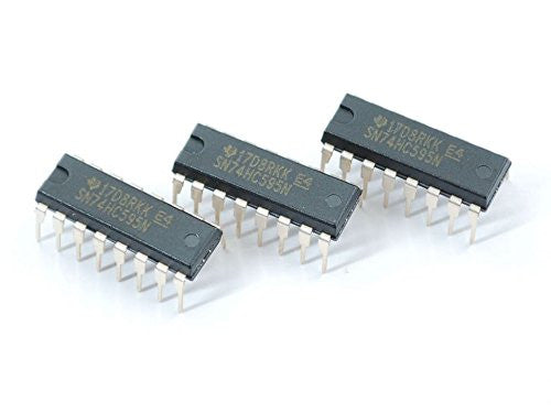 Adafruit 74HC595 Shift Register - 3 pack - Chicago Electronic Distributors