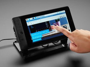 "SmartiPi Touch 2 - Stand for Raspberry Pi 7"" Touchscreen Display - Compatible with Pi 4"