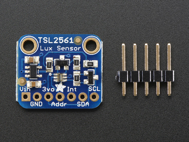 Adafruit TSL2561 Digital Luminosity/Lux/Light Sensor Breakout - Chicago Electronic Distributors  - 2