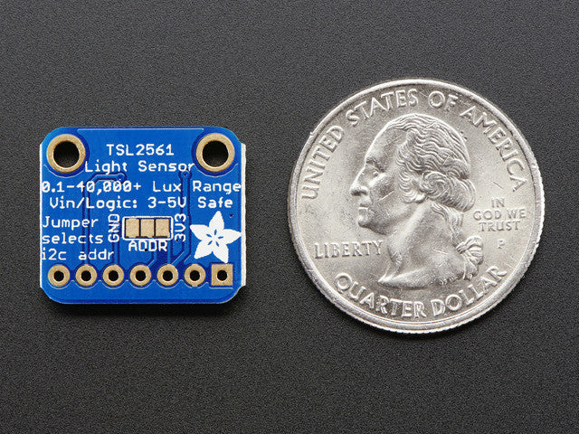 Adafruit TSL2561 Digital Luminosity/Lux/Light Sensor Breakout - Chicago Electronic Distributors  - 3