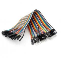 Male / Female Jumper Wires, 4, 8, or 12 inch lengths