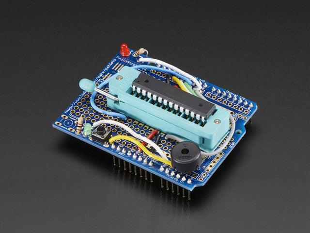 Standalone AVR ISP Programmer Shield Kit - includes blank chip! - Chicago Electronic Distributors  - 1