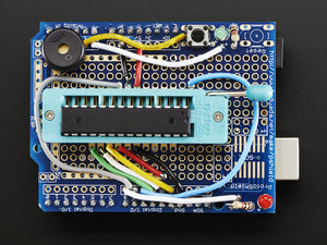 Standalone AVR ISP Programmer Shield Kit - includes blank chip! - Chicago Electronic Distributors  - 3