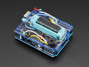 Standalone AVR ISP Programmer Shield Kit - includes blank chip! - Chicago Electronic Distributors  - 4