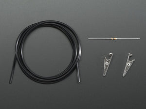 Adafruit Conductive Rubber Cord Stretch Sensor + extras!