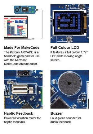 ARCADE for MakeCode Arcade