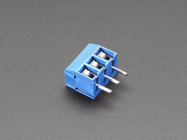 Terminal Block - 3-pin 3.5mm - pack of 5! - Chicago Electronic Distributors