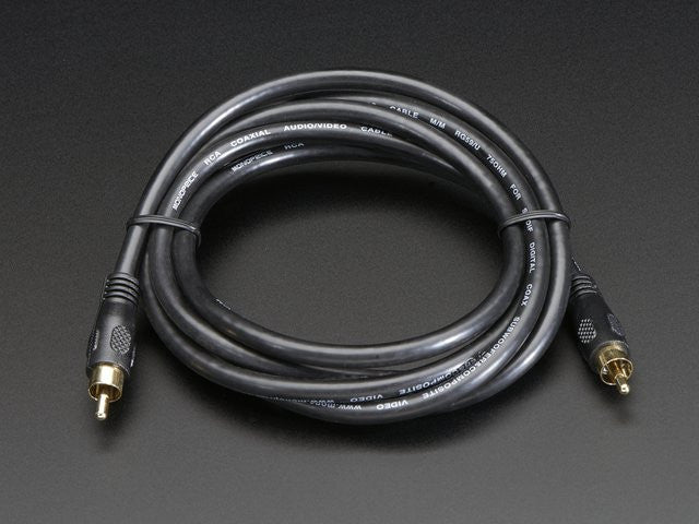 RCA (Composite Video, Audio) Cable 6 feet - Chicago Electronic Distributors