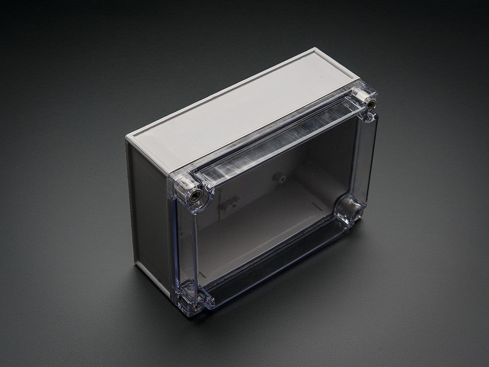 Large Plastic Project Enclosure - Weatherproof with Clear Top - Chicago Electronic Distributors  - 3