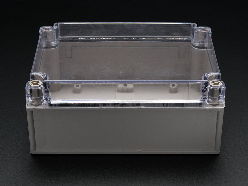 Large Plastic Project Enclosure - Weatherproof with Clear Top - Chicago Electronic Distributors  - 5