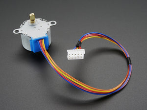 Small Reduction Stepper Motor - 12VDC 32-Step 1/16 Gearing - Chicago Electronic Distributors  - 3