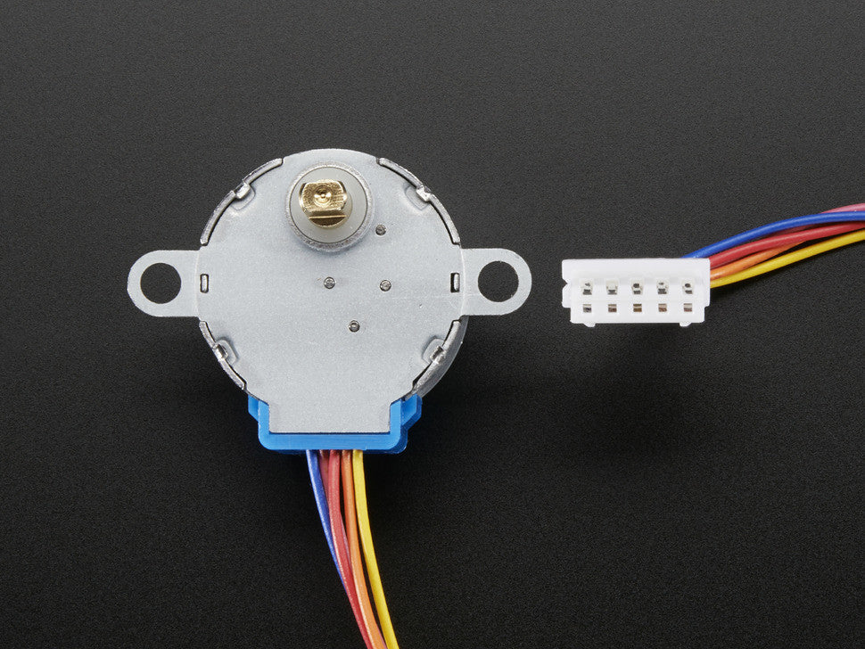 Small Reduction Stepper Motor - 12VDC 32-Step 1/16 Gearing - Chicago Electronic Distributors