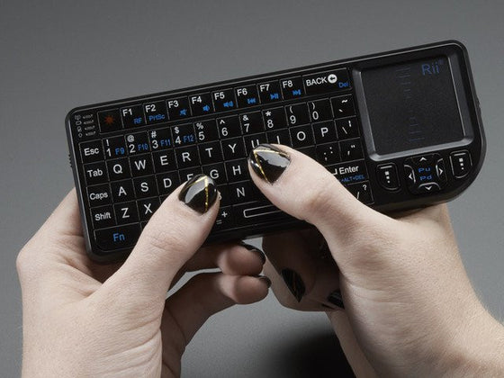 Miniature Wireless USB Keyboard with Touchpad - Chicago Electronic Distributors