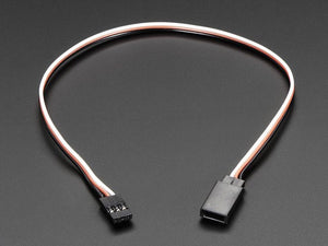"Servo Extension Cable - 30cm / 12"" long - - Chicago Electronic Distributors"
