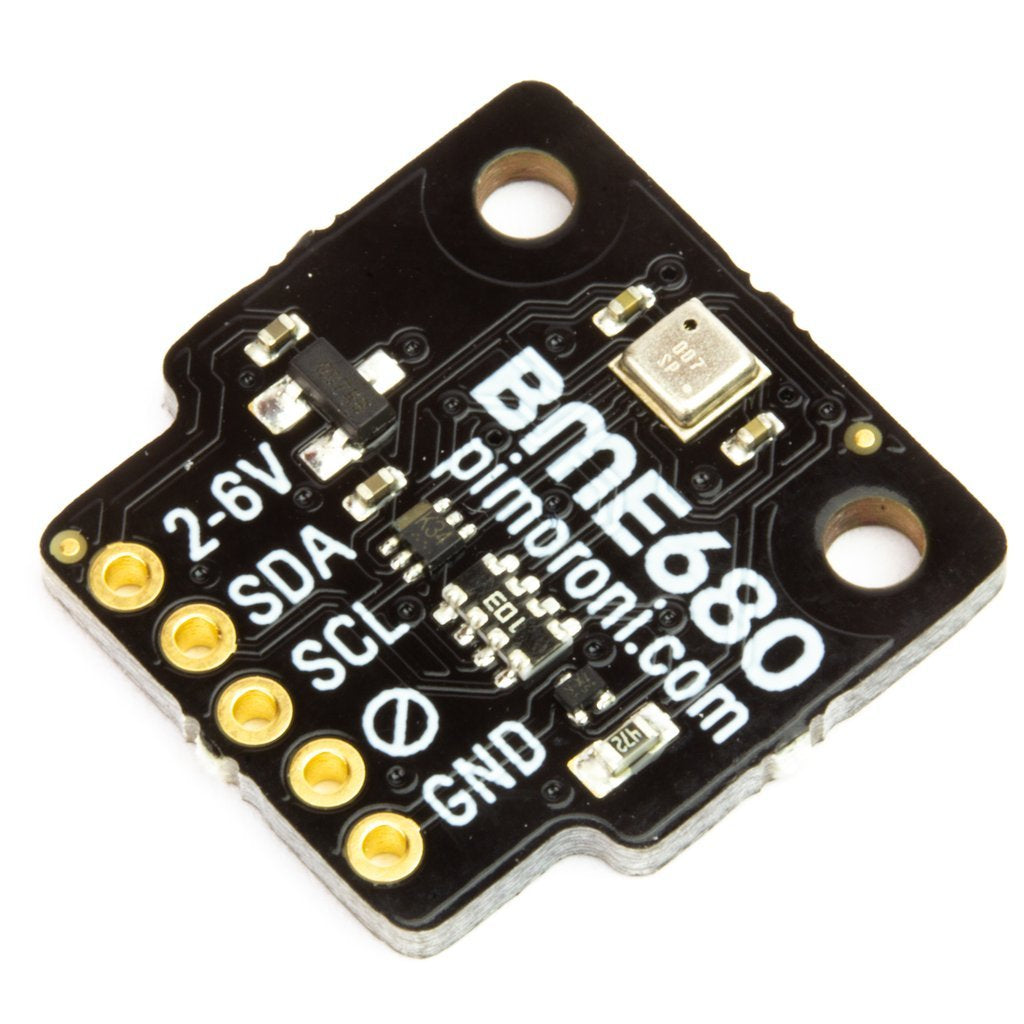 Pimoroni BME680 Breakout - Air Quality, Temperature, Pressure, Humidity Sensor - Individual