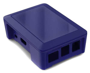 Cyntech Raspberry Pi Case for Pi 2 and Model B+ in Blue - Chicago Electronic Distributors