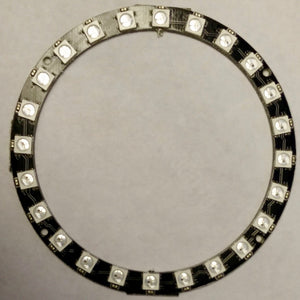 24x WS2812-compatible 5050 RGB LED Ring
