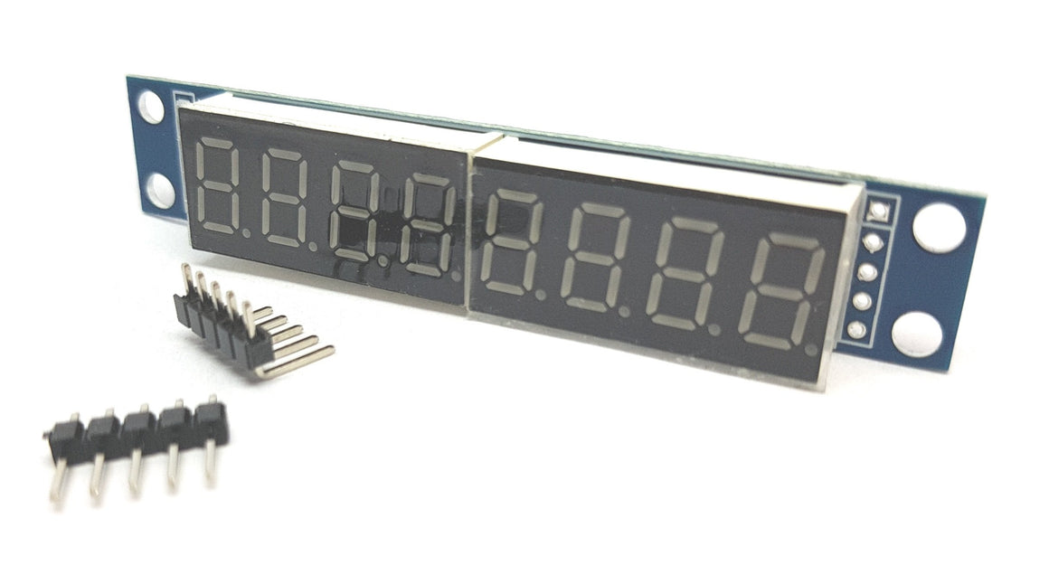 MAX7219 7-segment Red 8 Digit Digital Tube Display Module