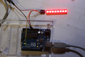Adafruit NeoPixel Stick for Arduino- 8 x WS2812 5050 RGB LED with Integrated Drivers - Chicago Electronic Distributors  - 6