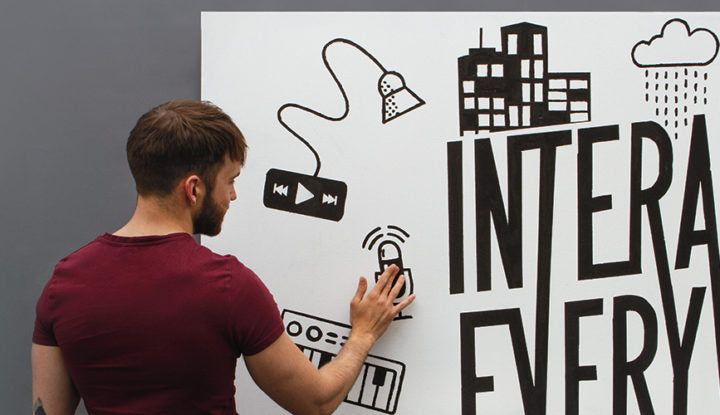 Interactive Wall Kit by Bare Conductive
