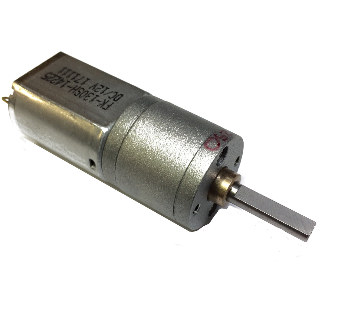 250:1 Metal Gearmotor 20Dx46L mm 12V CB with Extended Motor Shaft