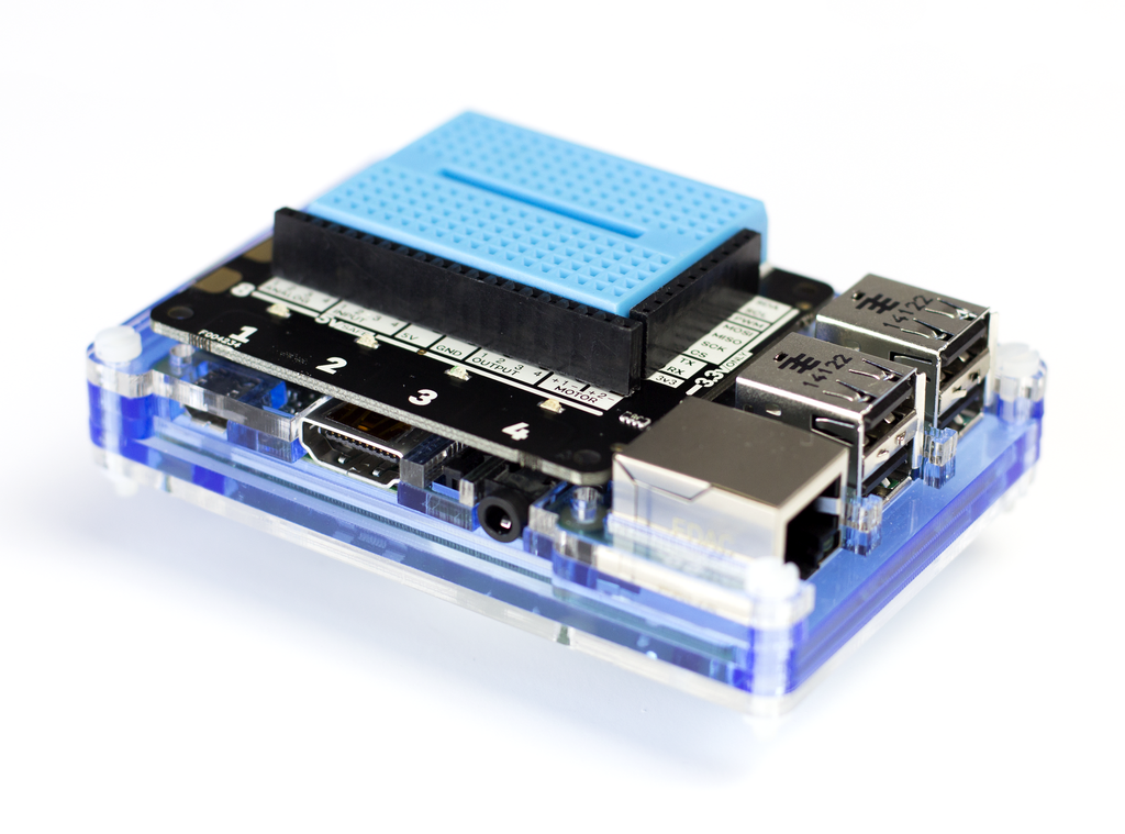 Pimoroni Explorer HAT Pro - Chicago Electronic Distributors  - 2