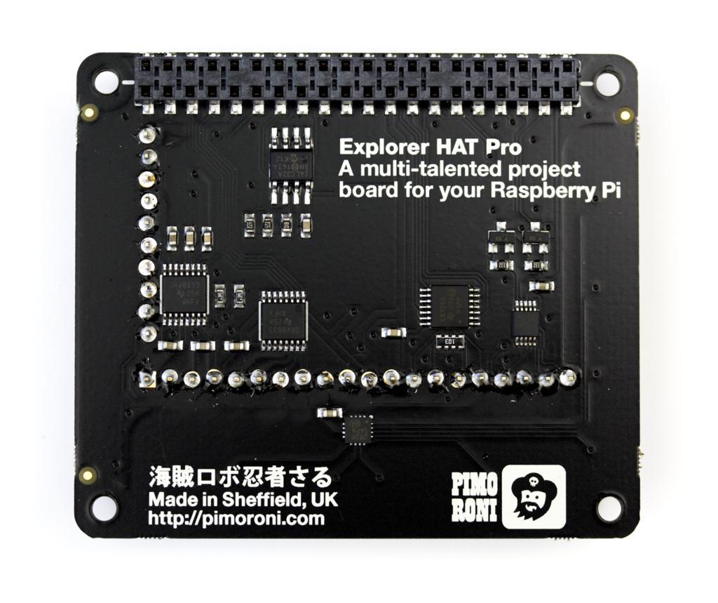Pimoroni Explorer HAT Pro - Chicago Electronic Distributors  - 3