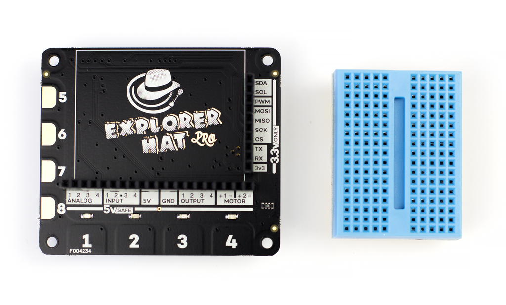 Pimoroni Explorer HAT Pro - Chicago Electronic Distributors  - 4
