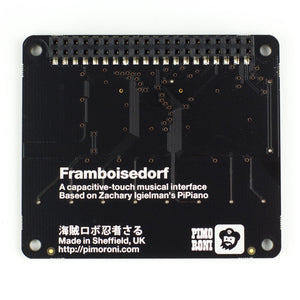 Pimoroni Piano HAT - Chicago Electronic Distributors  - 3