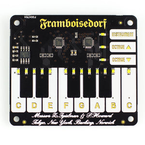 Pimoroni Piano HAT - Chicago Electronic Distributors  - 4