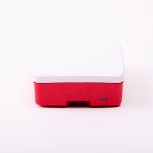 Official Raspberry Pi 4 Case in Red/White