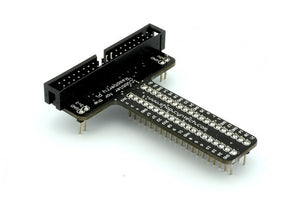 40 Way Raspberry Split+ Assembled for B+ and Pi 2 - Chicago Electronic Distributors  - 1
