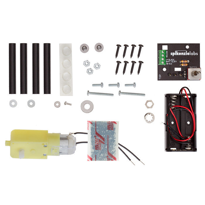 The Useless Machine - Kit - Chicago Electronic Distributors  - 4