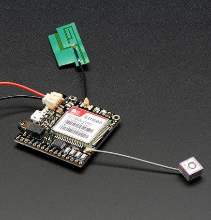 Adafruit FONA 808 - Mini Cellular GSM + GPS Breakout - Chicago Electronic Distributors  - 4