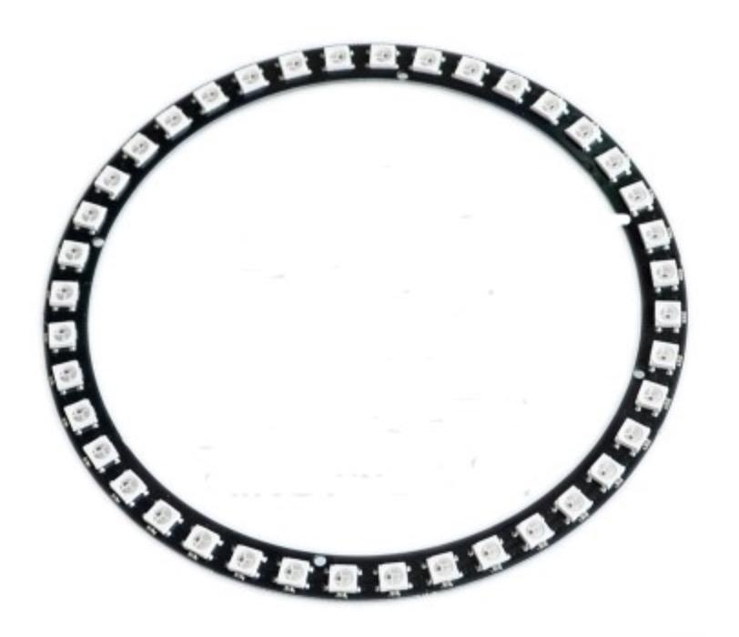 Large 40 RGB LED Ring WS2812-Compatible 5050 125 mm